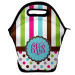 Stripes & Dots Lunch Bag w/ Monogram