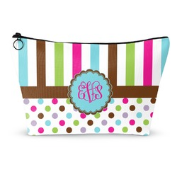 Stripes & Dots Makeup Bags (Personalized)