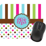 Stripes & Dots Mouse Pads (Personalized)