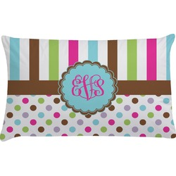 Stripes & Dots Pillow Case (Personalized)