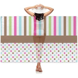 Stripes & Dots Sheer Sarong (Personalized)