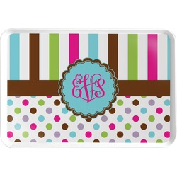 Stripes & Dots Serving Tray (Personalized)