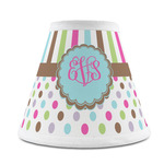 Stripes & Dots Chandelier Lamp Shade (Personalized)