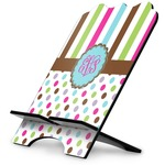 Stripes & Dots Stylized Tablet Stand (Personalized)