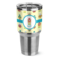 Robot Stainless Steel Tumbler - 30 oz (Personalized)