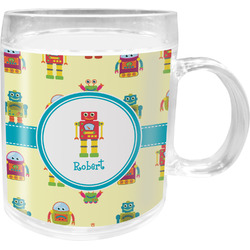 Robot Acrylic Kids Mug (Personalized)