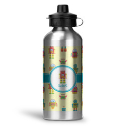 Robot Water Bottle - Aluminum - 20 oz (Personalized)