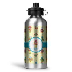 Robot Water Bottle - Aluminum - 20 oz (Personalized)