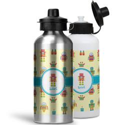 Robot Water Bottles- Aluminum (Personalized)