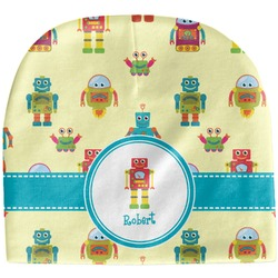 Robot Baby Hat (Beanie) (Personalized)