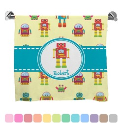 Robot Full Print Bath Towel (Personalized)