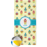 Robot Beach Towel (Personalized)