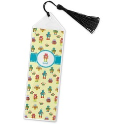 Robot Book Mark w/Tassel (Personalized)
