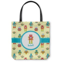 Robot Canvas Tote Bag (Personalized)