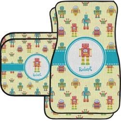Robot Car Floor Mats (Personalized)