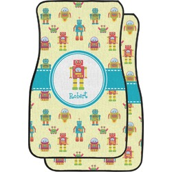 Robot Car Floor Mats (Front Seat) (Personalized)