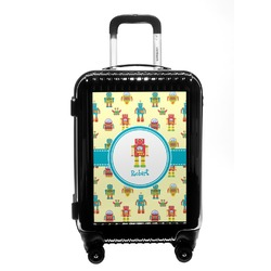 Robot Carry On Hard Shell Suitcase (Personalized)