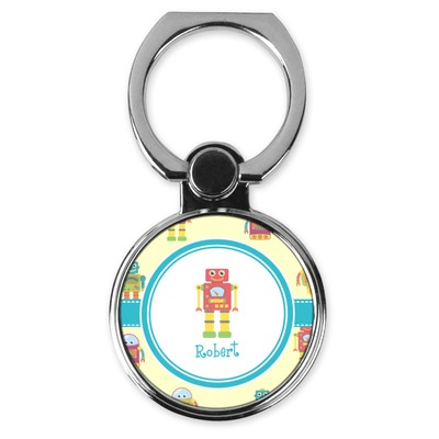Robot Cell Phone Ring Stand & Holder (Personalized)