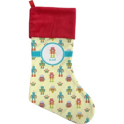 Robot Christmas Stocking (Personalized)
