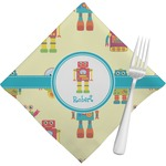 Robot Napkins (Set of 4) (Personalized)