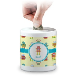 Robot Coin Bank (Personalized)