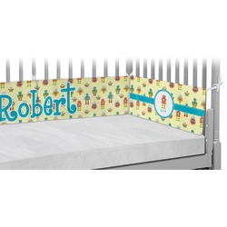 Robot Crib Bumper Pads (Personalized)
