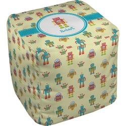 Robot Cube Pouf Ottoman (Personalized)