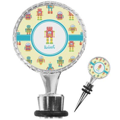 Robot Wine Bottle Stopper (Personalized)