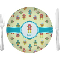 Robot Glass Lunch / Dinner Plates 10