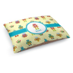 Robot Dog Pillow Bed (Personalized)