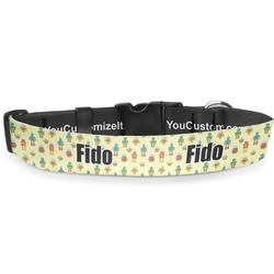 """Robot Deluxe Dog Collar - Toy (6"""" to 8.5"""") (Personalized)"""