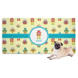 Robot Dog Towel (Personalized)