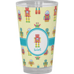 Robot Drinking / Pint Glass (Personalized)
