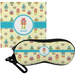 Robot Eyeglass Case & Cloth (Personalized)