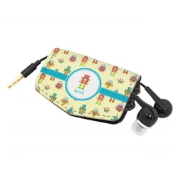 Robot Genuine Leather Cord Wrap (Personalized)