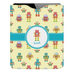 Robot Genuine Leather iPad Sleeve (Personalized)