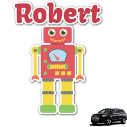 Robot Graphic Car Decal (Personalized)