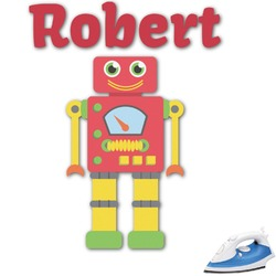Robot Graphic Iron On Transfer (Personalized)