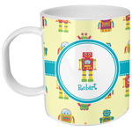 Robot Plastic Kids Mug (Personalized)