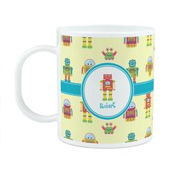Robot Plastic Kids Mug (Personalized)