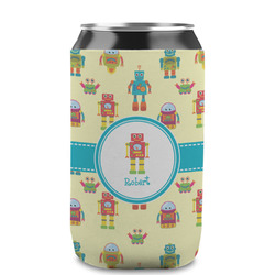 Robot Can Sleeve (12 oz) (Personalized)