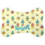 Robot Bone Shaped Dog Food Mat (Personalized)
