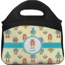 Robot Lunch Tote (Personalized)