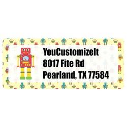 Robot Return Address Labels (Personalized)