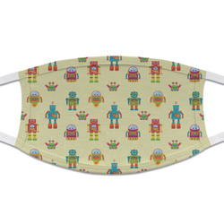 Robot Cloth Face Mask (T-Shirt Fabric) (Personalized)