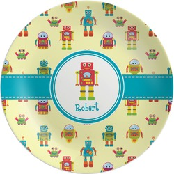 Robot Melamine Plate (Personalized)