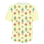 Robot Men's Crew T-Shirt (Personalized)