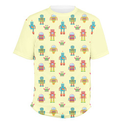 Robot Men's Crew T-Shirt (Personalized)