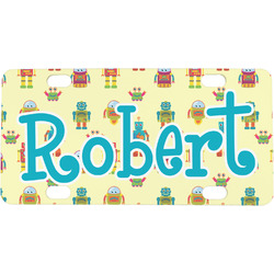 Robot Mini / Bicycle License Plate (Personalized)