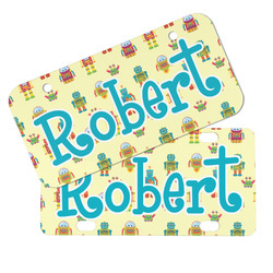 Robot Mini/Bicycle License Plates (Personalized)